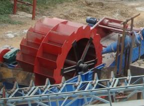 轮式洗沙机